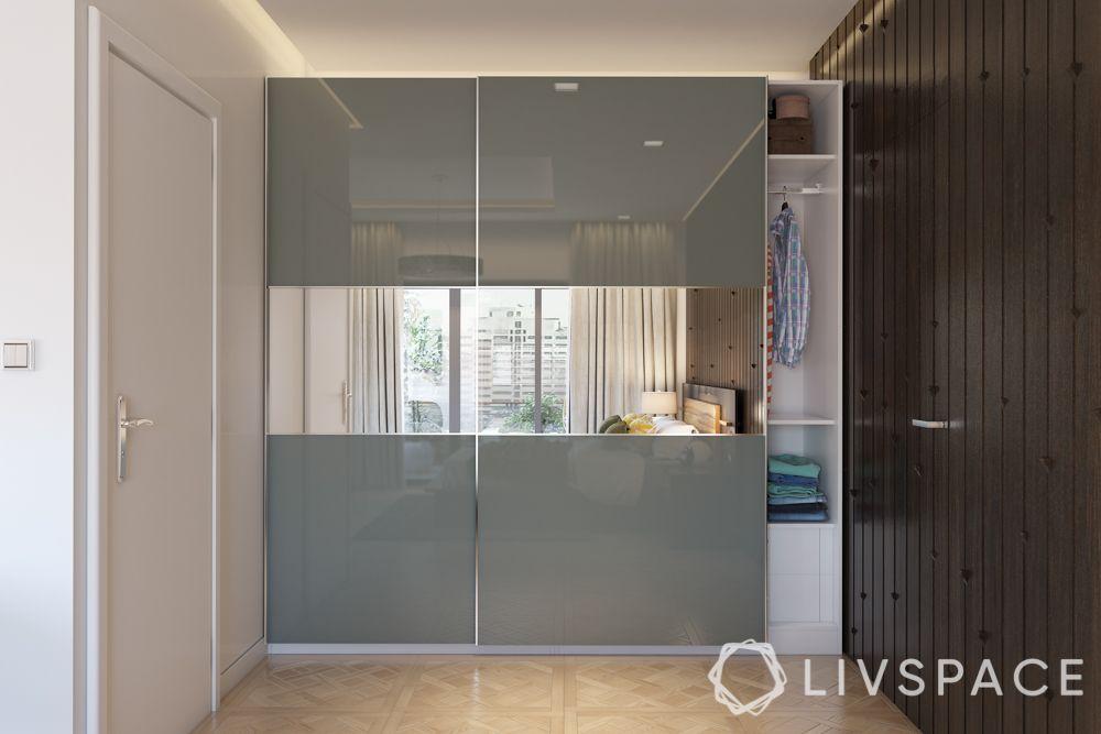 wardrobe-with-mirror-grey-bedroom