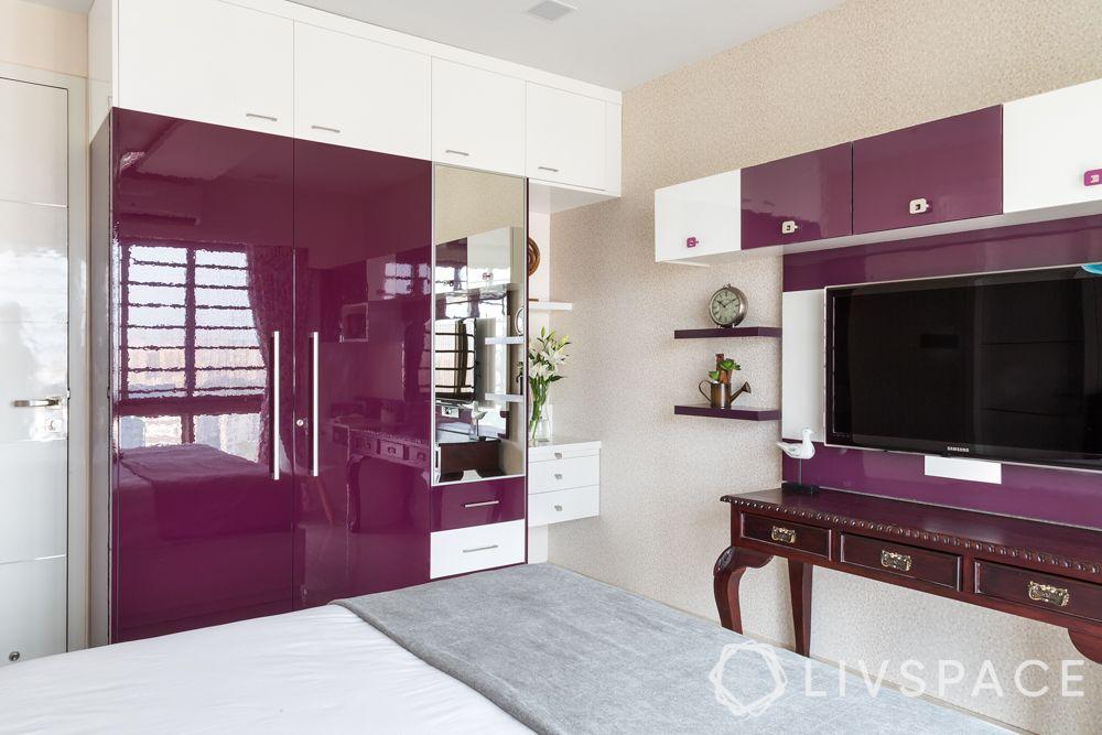 mirror-cupboard-dresser-purple-glossy