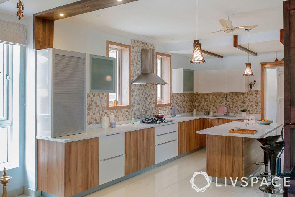 wooden kitchen-kitchen vastu tips