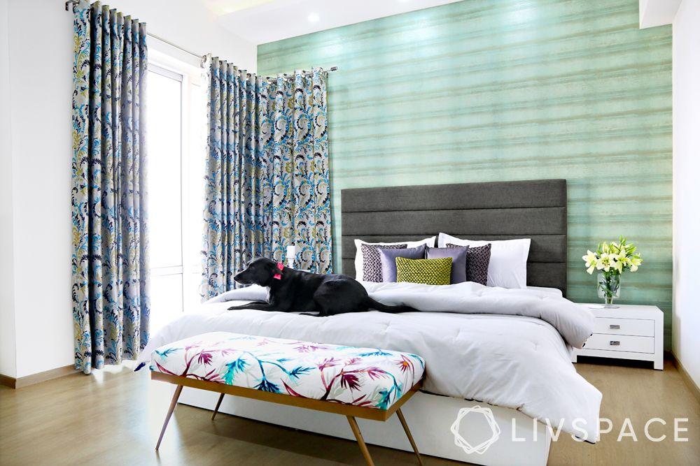 minimalist-decor-bedroom-texture-wallpaper-headboard