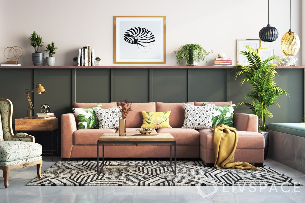decorating-with-plants-potted-corner-pink-sofa