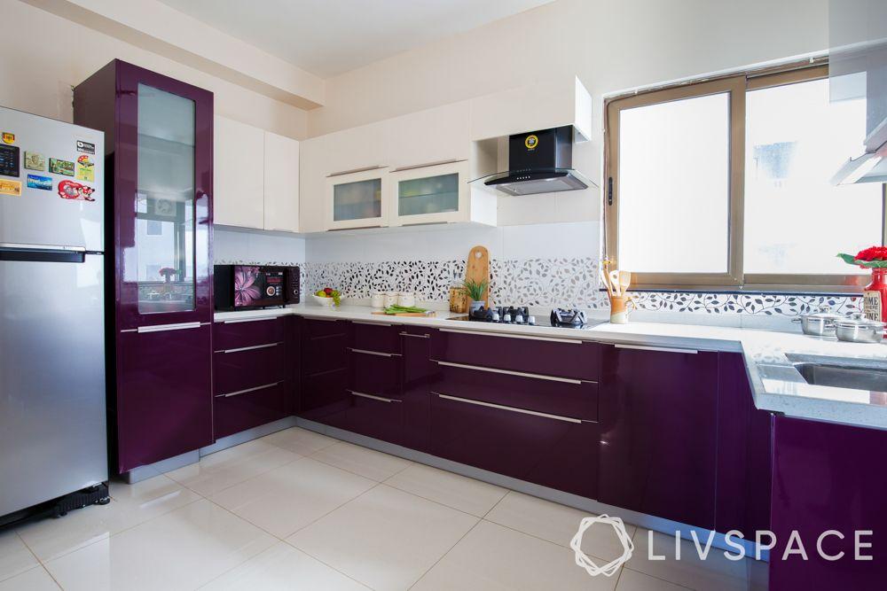 kitchen-designs-purple-shelves-wood-cabinets