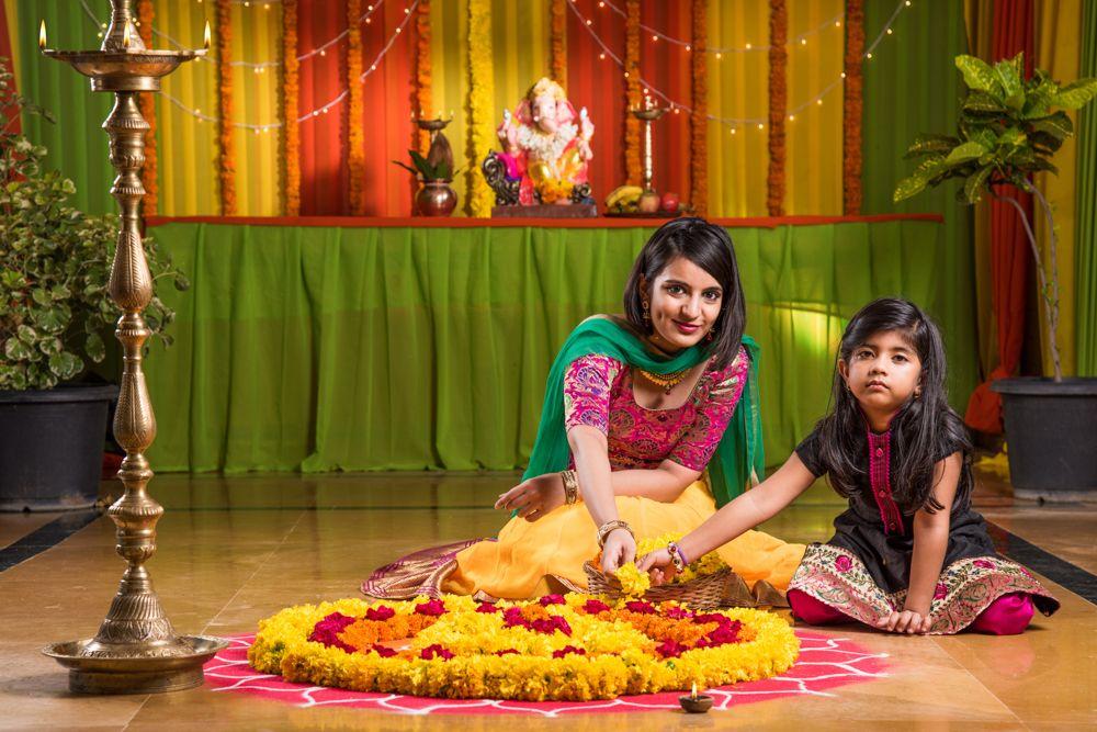 diwali decoration ideas for home-rangoli