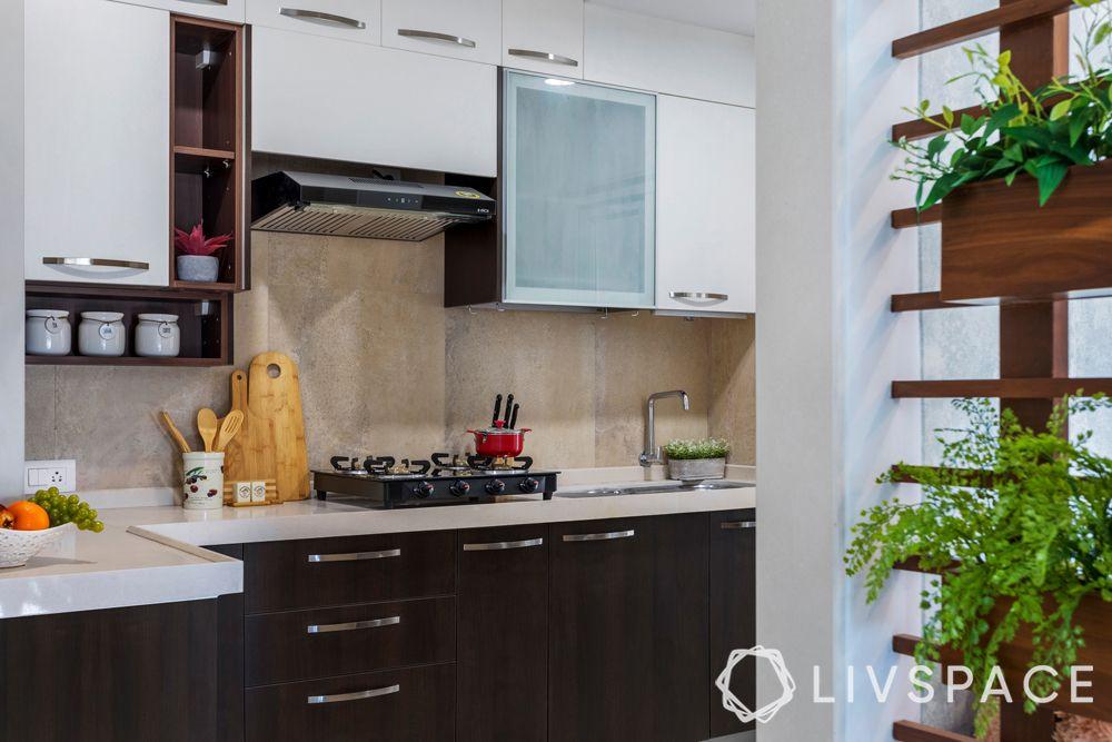 two toned kitchen-quartz countertop
