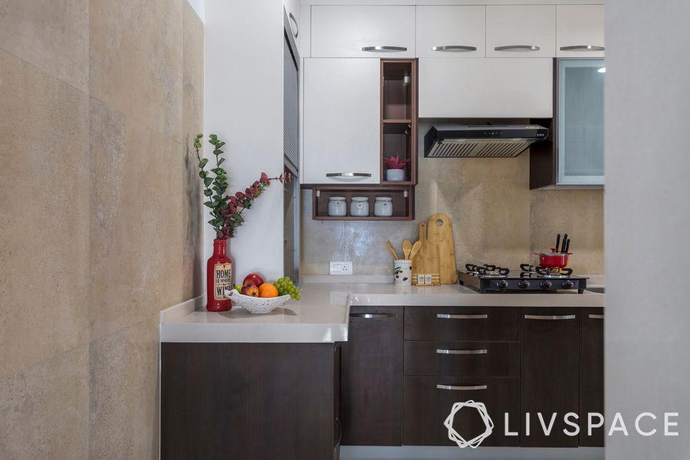kitchen counter-white quartz countertop