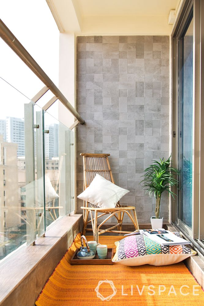 balcony styling-floor seating