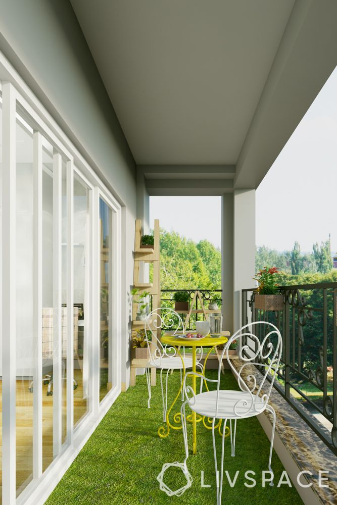 balcony design ideas-minimalistic