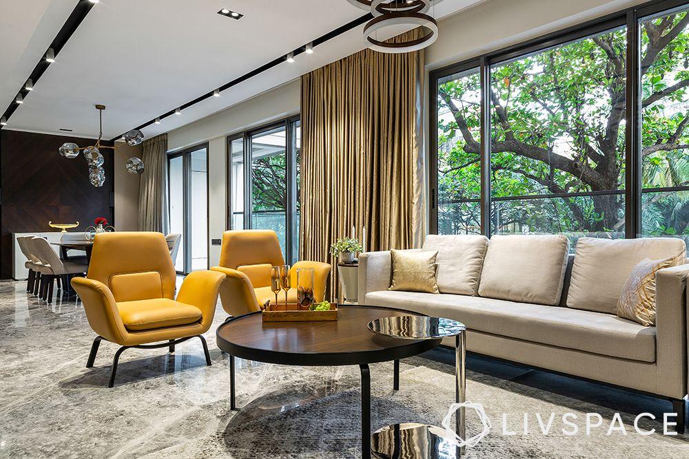 living room colours-scandinavian style
