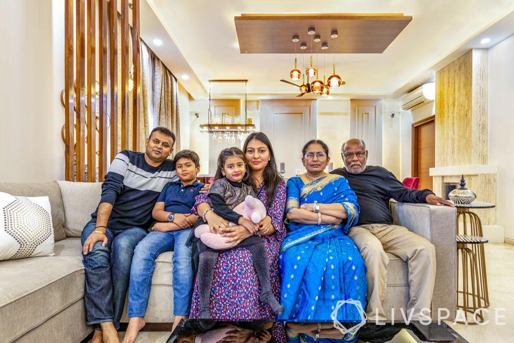 villa interior designer-family