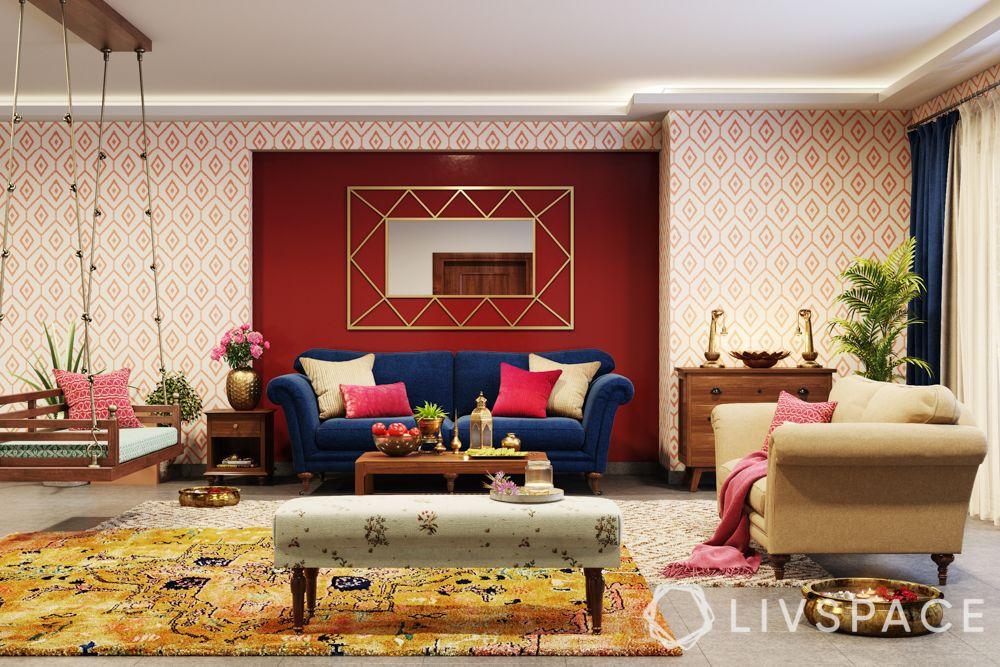 diwali decorate-diya decoration-indian home