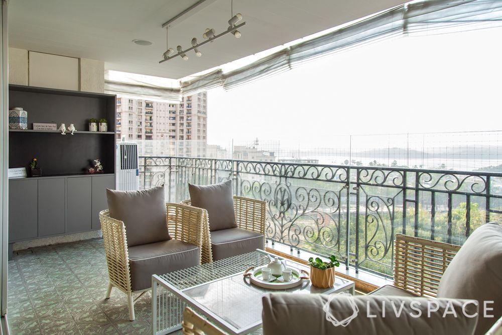 balcony grill design-contemporary style