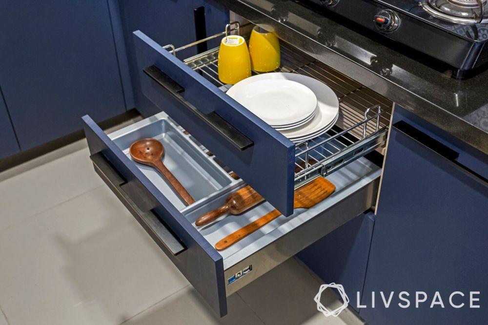 accessories for modular kitchen-wire basket