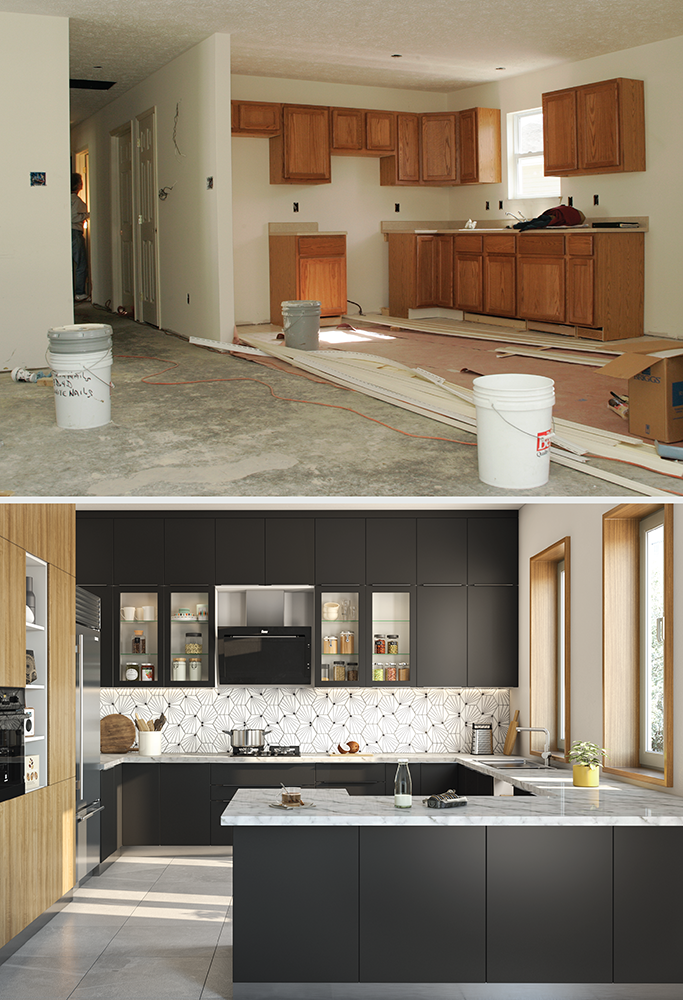 modular vs carpenter-made kitchens-comparison