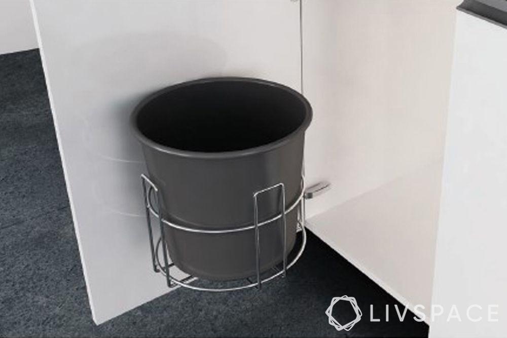 under sink accessories-bin holder-modular kitchen accessories