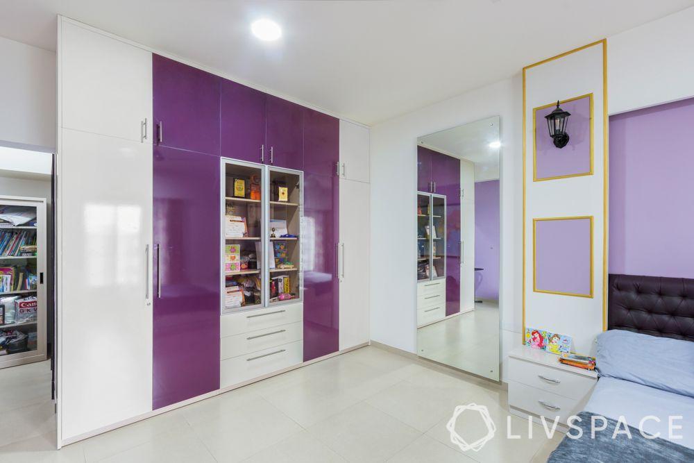 almirah design-almirah with open storage