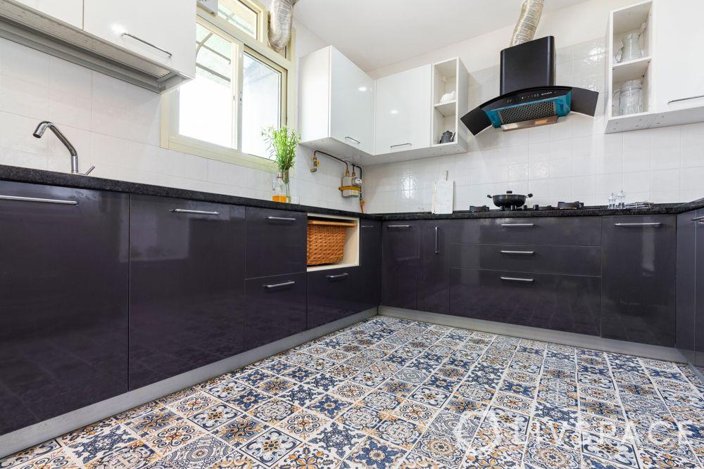 chimney style-bold kitchen-angular style chimney
