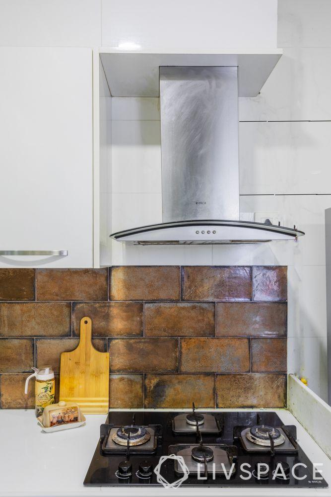 kitchen chimney-corner chimney