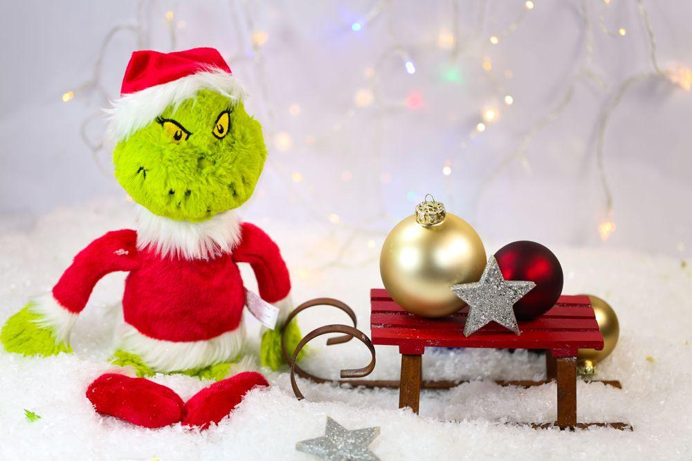 Christmas ideas-Grinch-sled