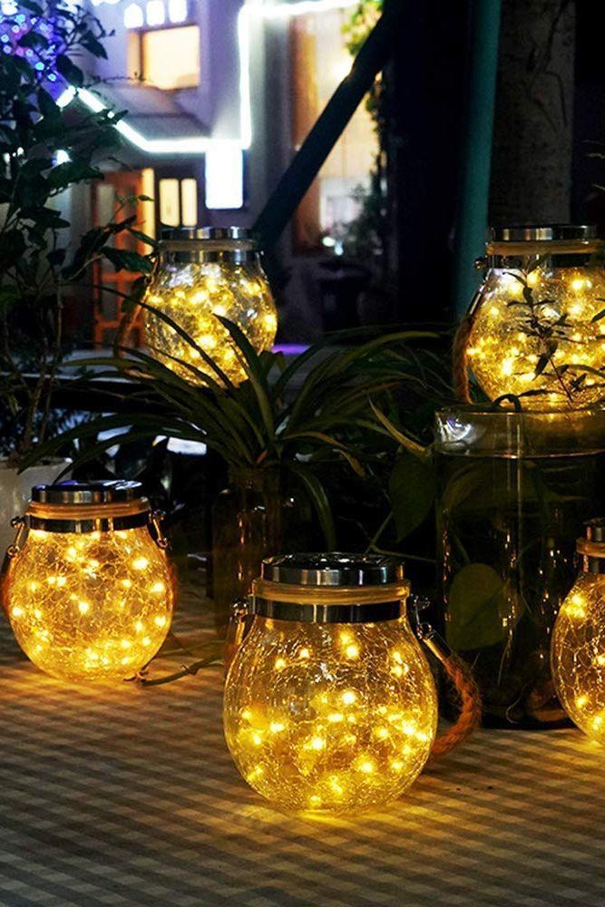 mason jar lights-solar lights