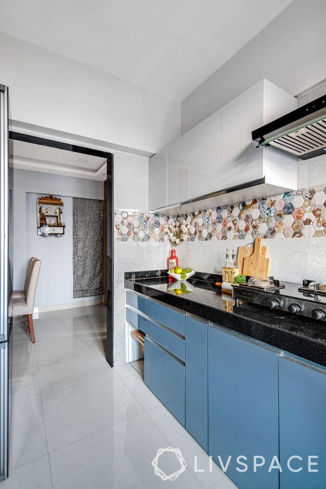 2 bhk flat interiors-kitchen