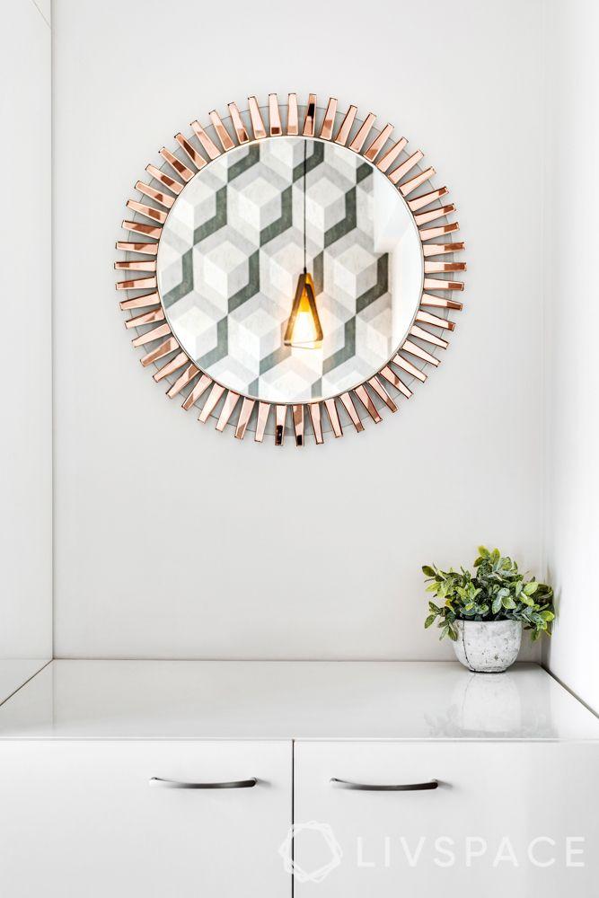 2BHK flat-unique décor elements
