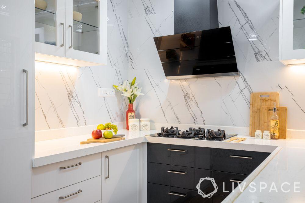 compact kitchen design-C shaped kitchen