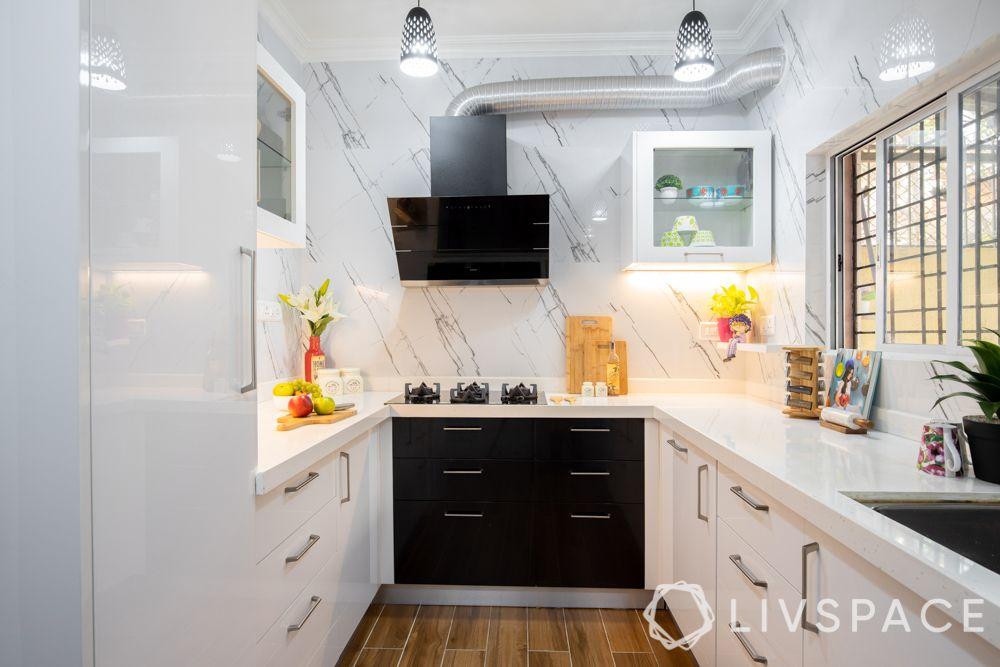 compact kitchen design-Kalinga stone countertop