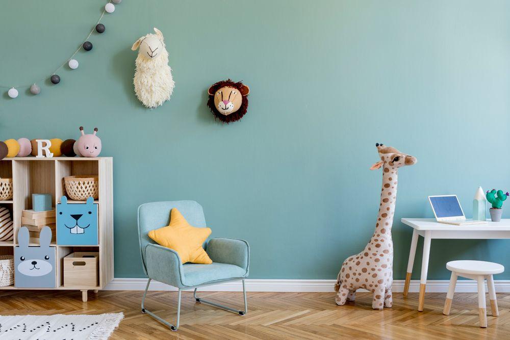 baby room design-animal theme