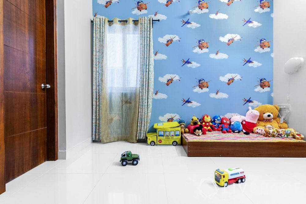 nursery room design-cartoon themed