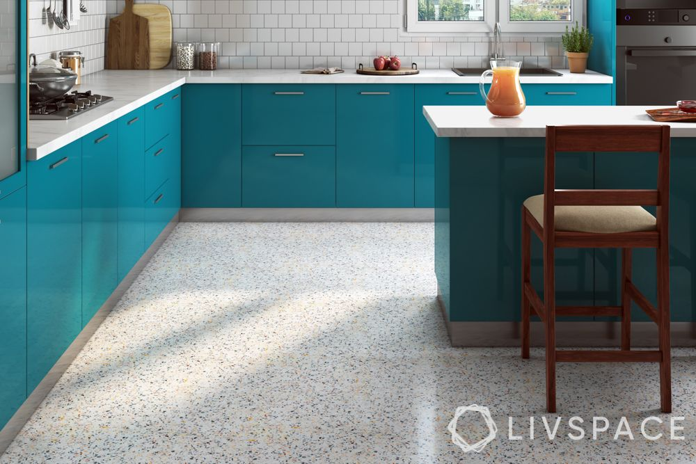 types of flooring-kitchen flooring-quartz floor