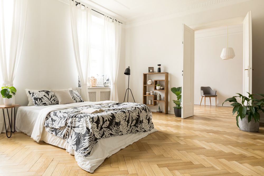 laminate flooring-bedroom flooring