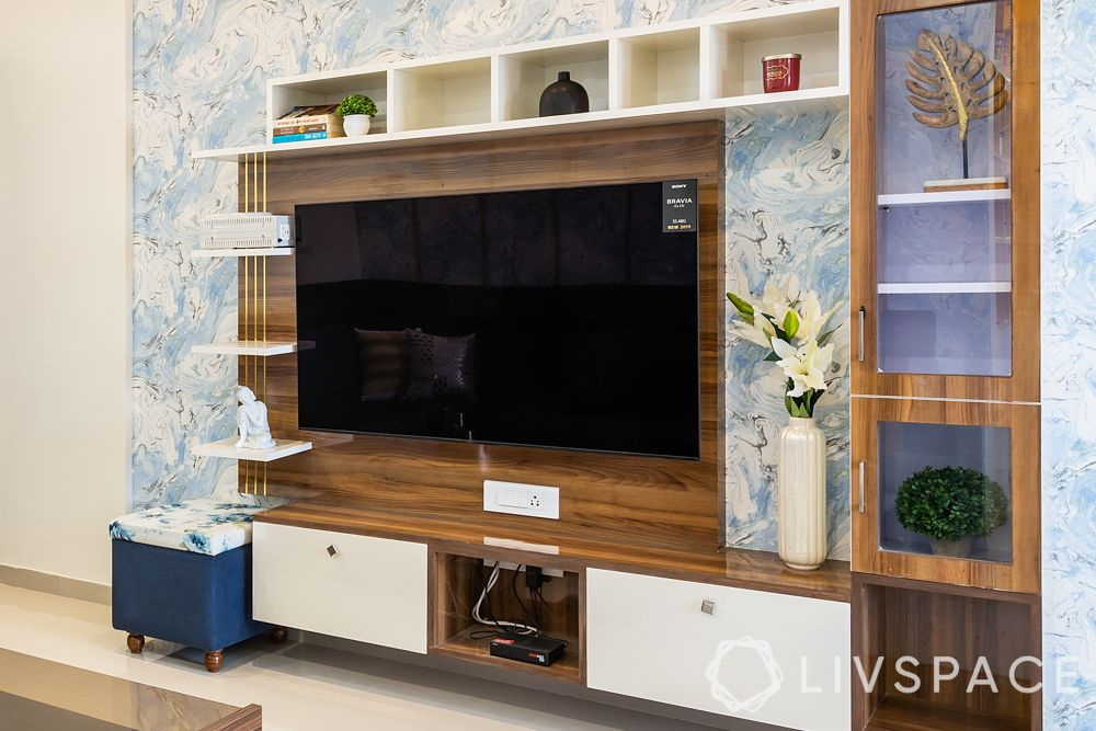 TV unit design-size