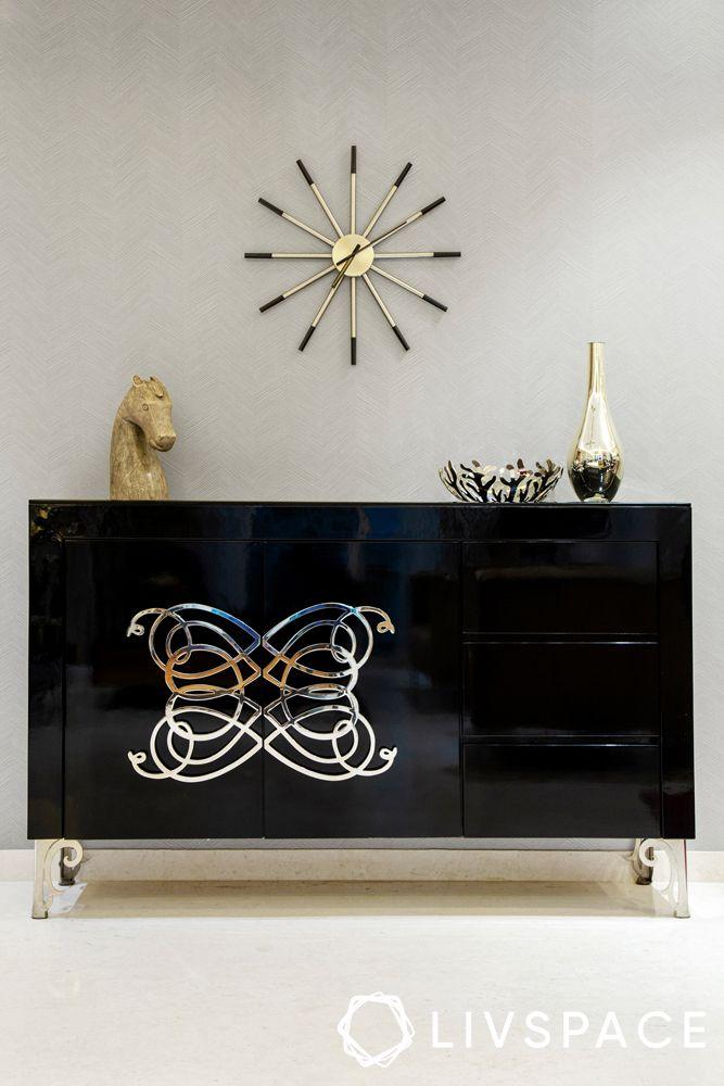 gurgaon 3bhk-glossy cabinet