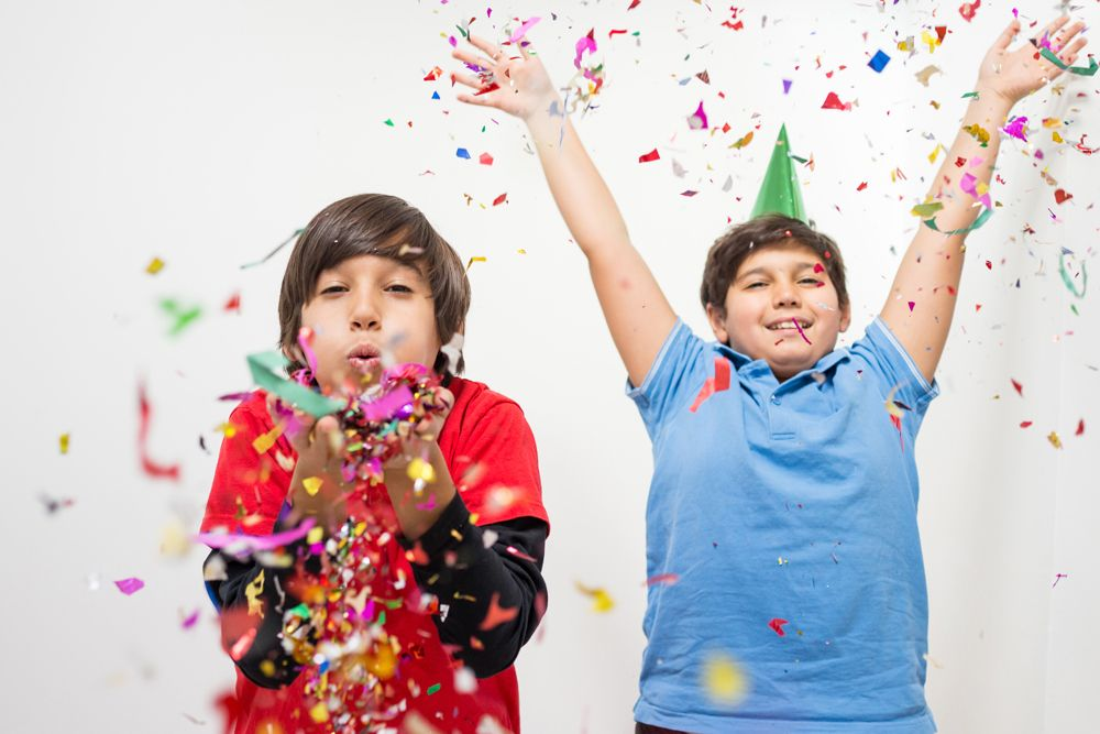 new year decor-kids party
