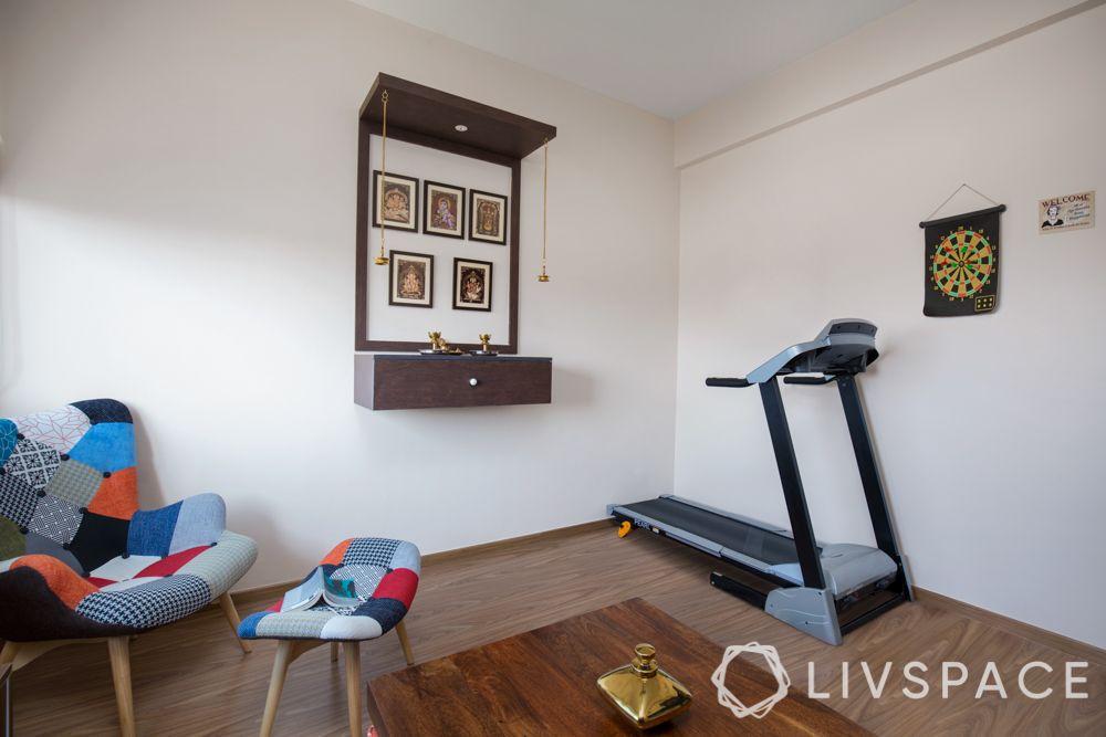 home gym-setting up workout corner