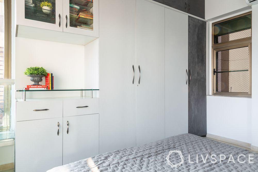 mumbai interiors-laminate wardrobe