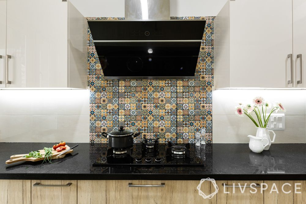 moroccan design in kitchen-backsplash