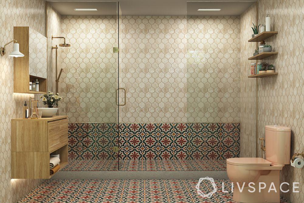 moroccan flooring-bathroom tiles