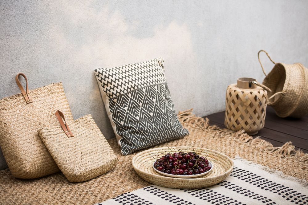 interior design trends 2021-rattan cane decor