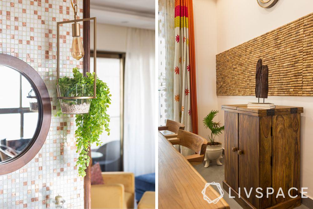 interior decor with plants-eco friendly interior design