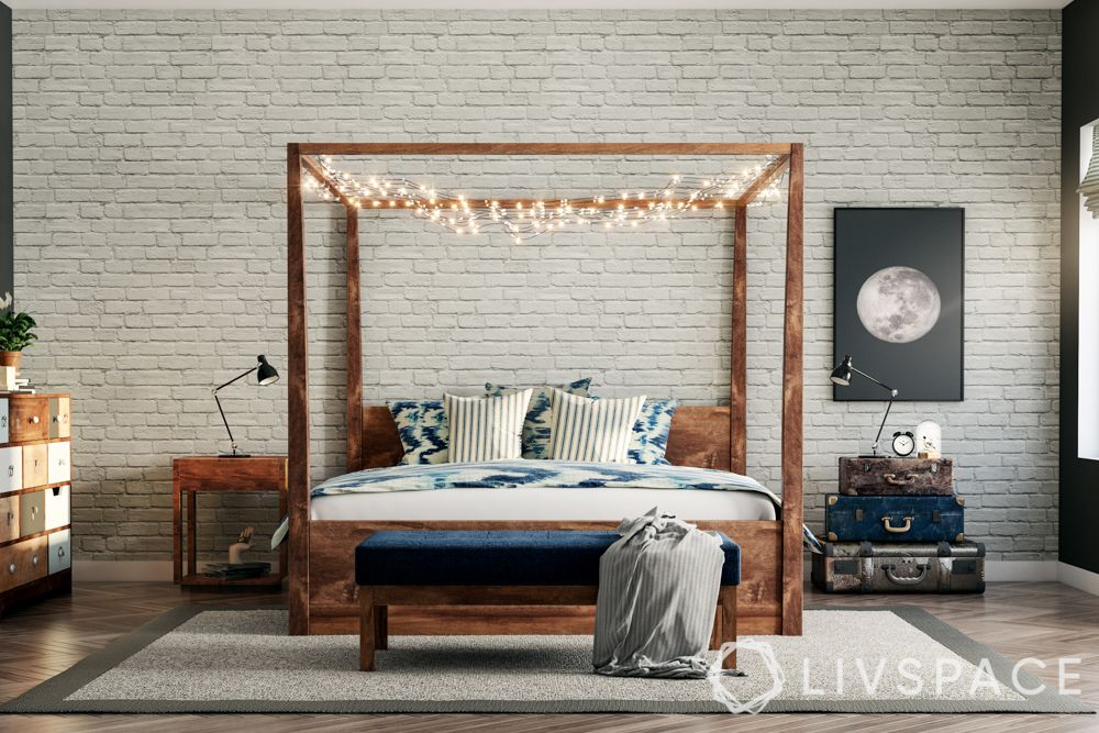 bed decors-fairy lights