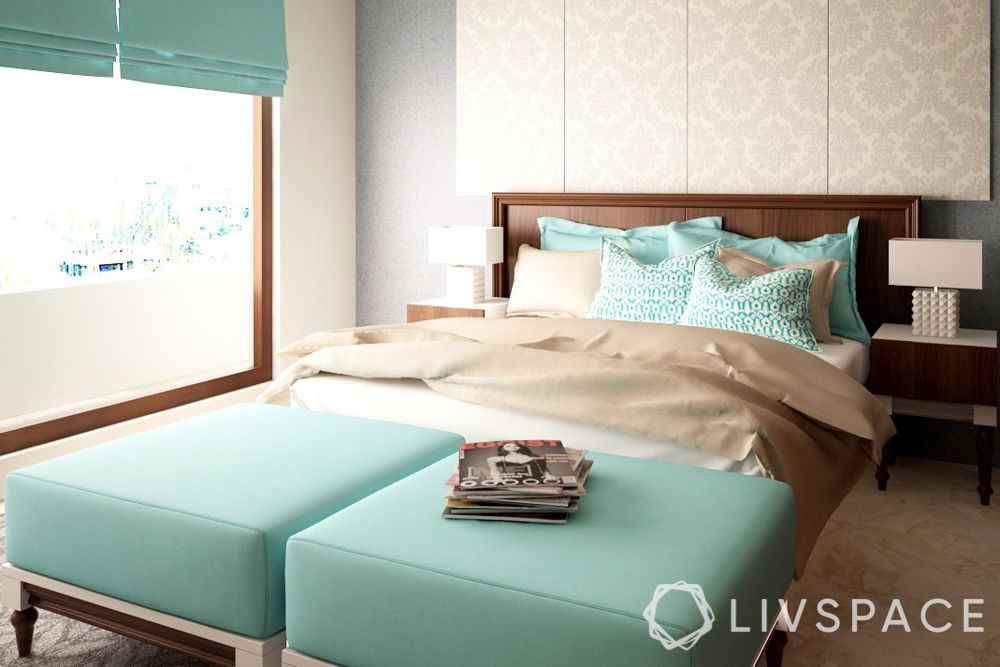 bed decors-pastel bed