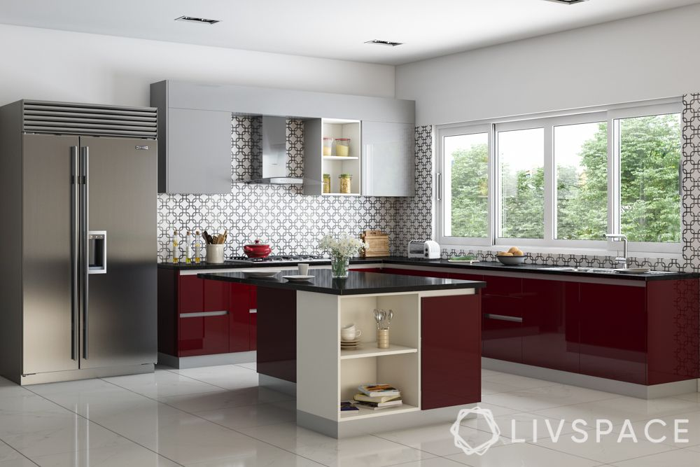 kitchen cabinet finishes-glossy finish-no oil stains