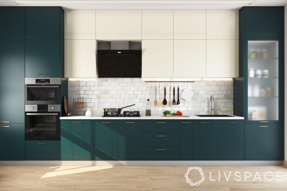 glossy vs matte finish cabinets-matte kitchen