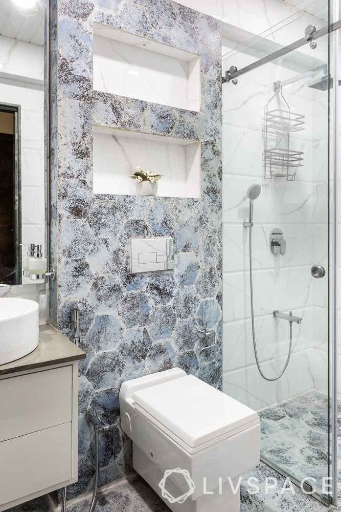 bathroom storage-shower cubicle