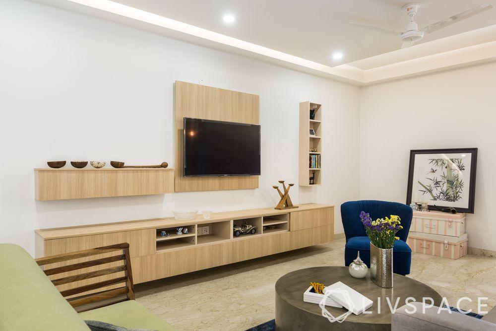 Scandinavian interiors-laminate TV unit