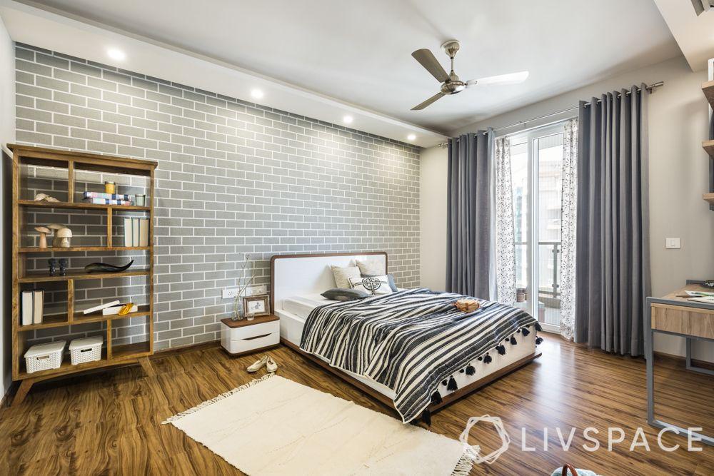 best 3BHK interior design-bedroom