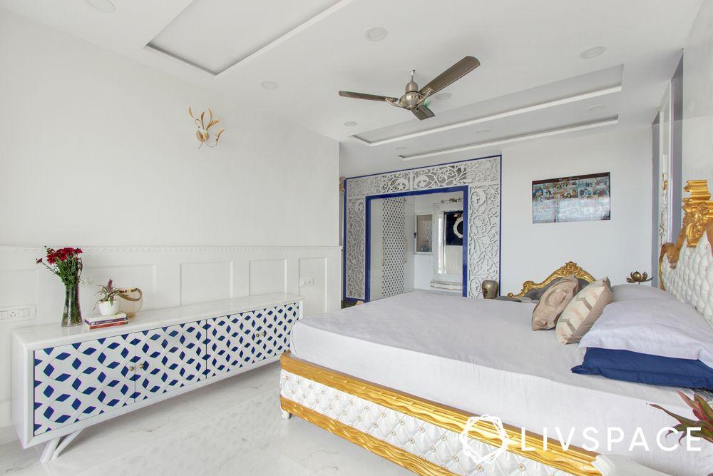 vastu colours for bedroom-white