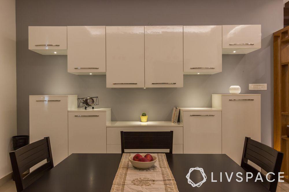 crockery cabinet-modular