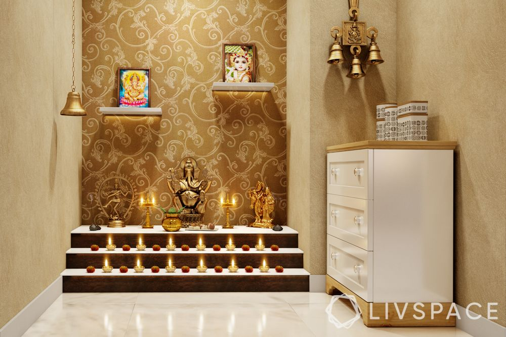 pooja room vastu tips-idol placement